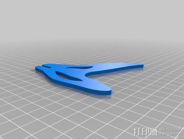 金鱼 - 3D拼图 3D模型  图6