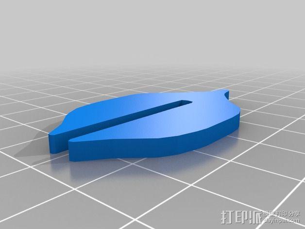 金鱼 - 3D拼图 3D模型  图4