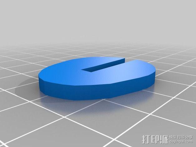 金鱼 - 3D拼图 3D模型  图5