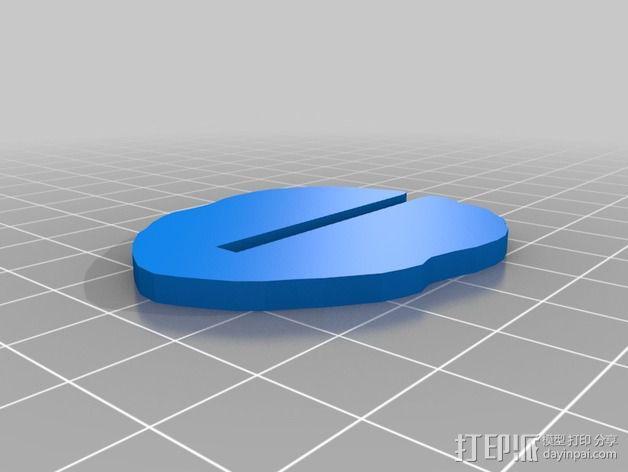 金鱼 - 3D拼图 3D模型  图7