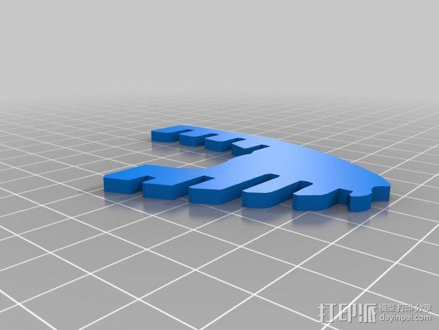 金鱼 - 3D拼图 3D模型  图8