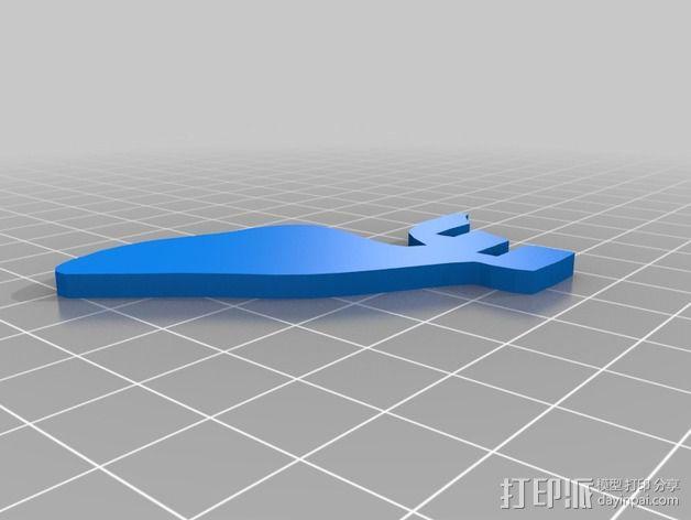 金鱼 - 3D拼图 3D模型  图10