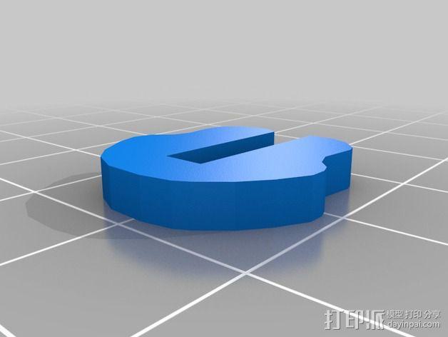 金鱼 - 3D拼图 3D模型  图9