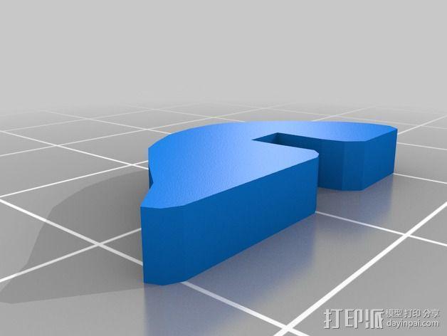 金鱼 - 3D拼图 3D模型  图11