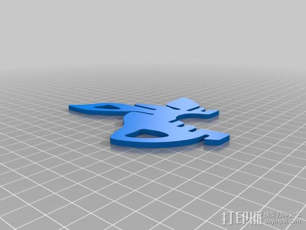 金鱼 - 3D拼图 3D模型  图12