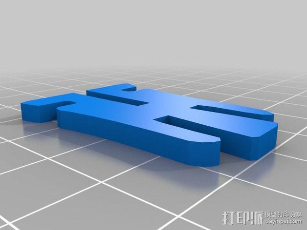 金鱼 - 3D拼图 3D模型  图13