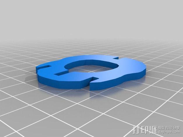 金鱼 - 3D拼图 3D模型  图15