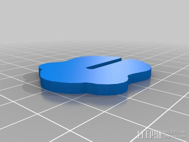 金鱼 - 3D拼图 3D模型  图20