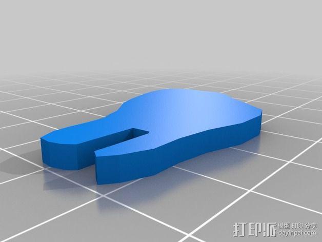 金鱼 - 3D拼图 3D模型  图19