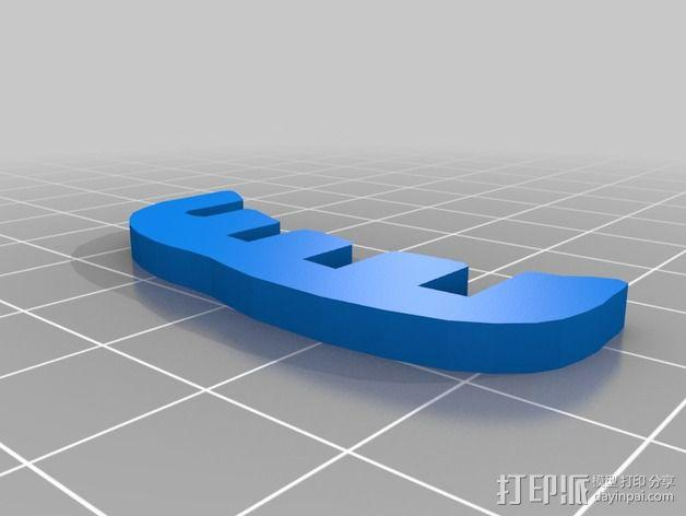金鱼 - 3D拼图 3D模型  图22