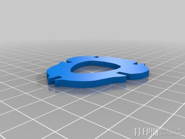 金鱼 - 3D拼图 3D模型  图23