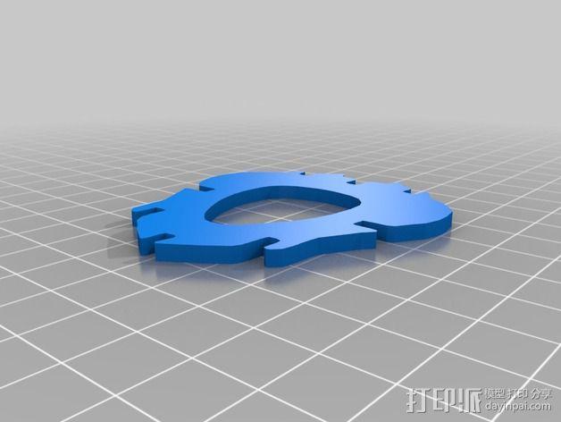 金鱼 - 3D拼图 3D模型  图25