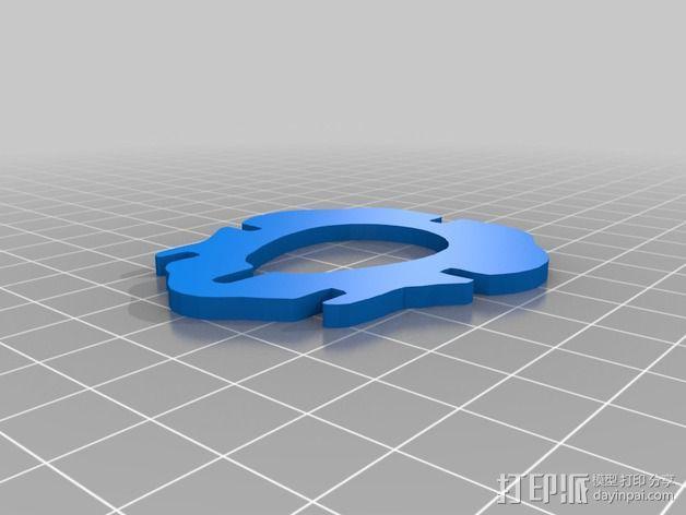 金鱼 - 3D拼图 3D模型  图26