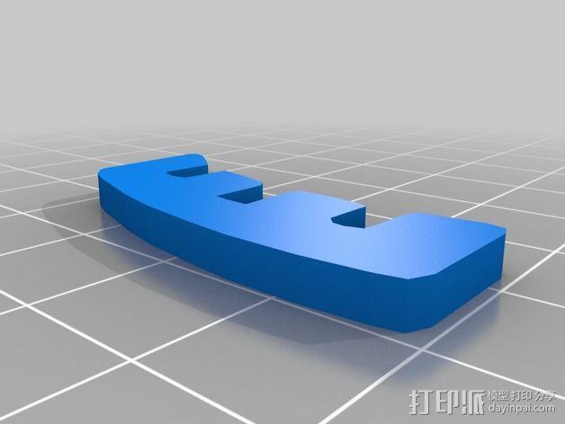 金鱼 - 3D拼图 3D模型  图28