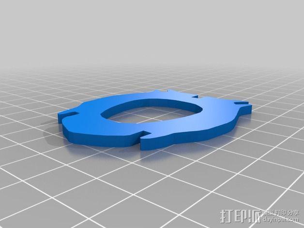 金鱼 - 3D拼图 3D模型  图29