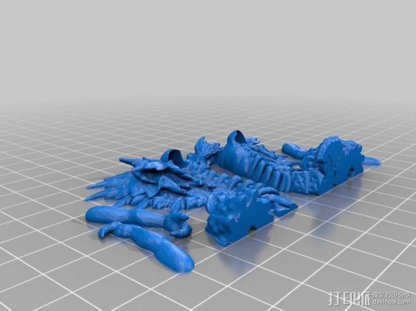 蛇怪 3D模型  图4