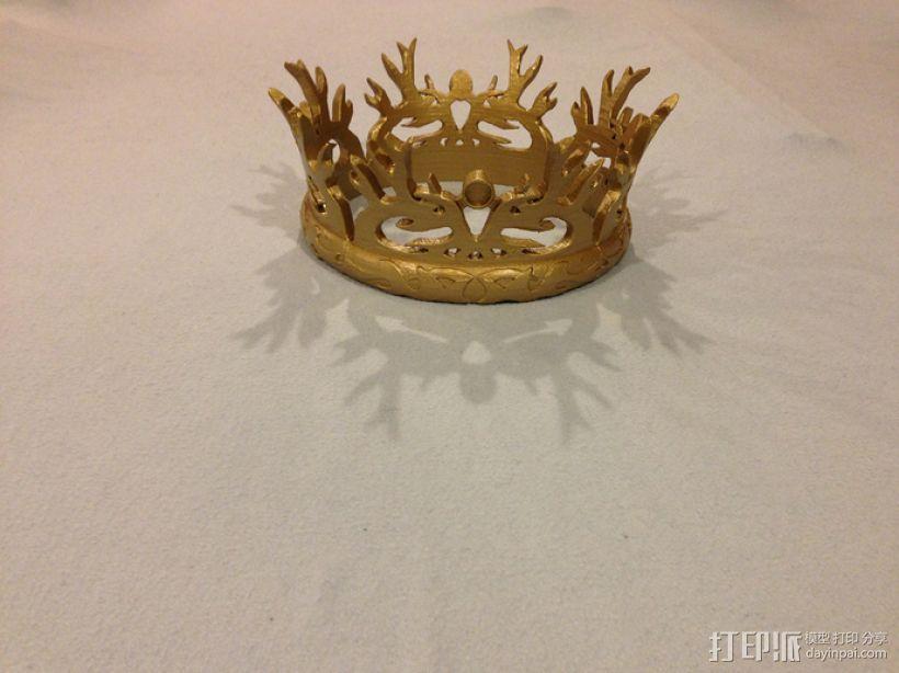 《权力的游戏》:王冠 3D模型  图1