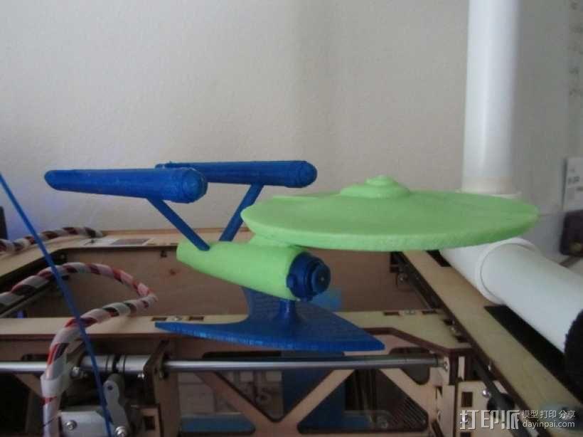 进取号星舰 3D模型  图4