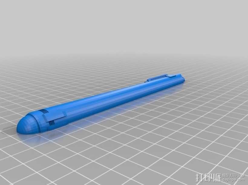 进取号星舰 3D模型  图7