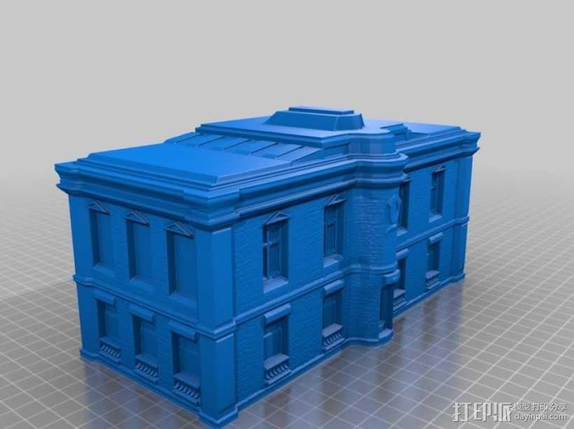 巴黎风格公寓 3D模型  图2
