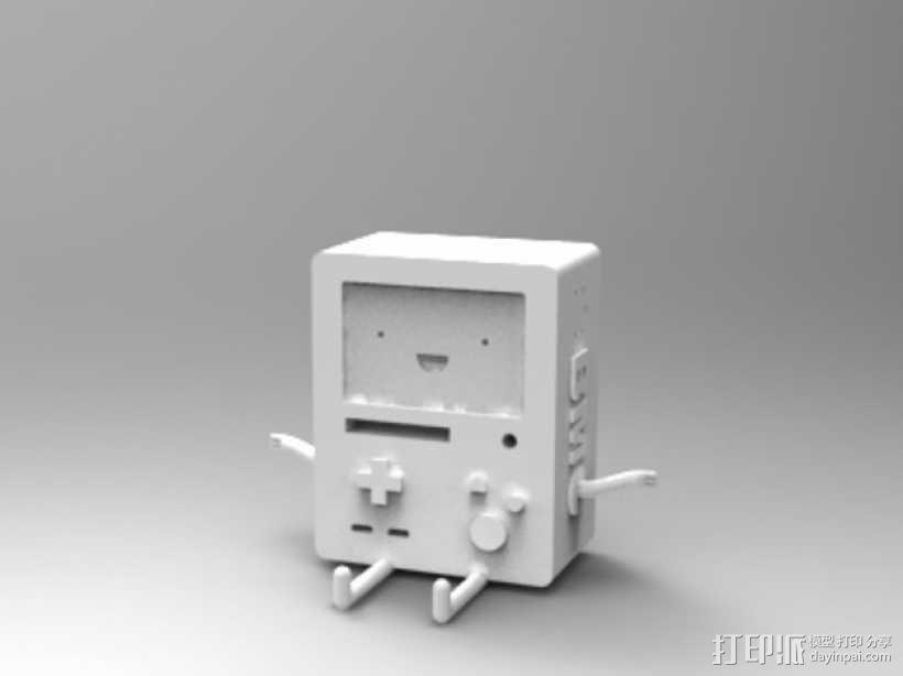 动画《探险活宝》BMO游戏机 3D模型  图1