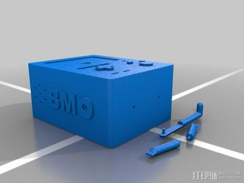 动画《探险活宝》BMO游戏机 3D模型  图5