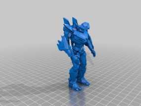 电影《环太平洋》机甲 3D模型