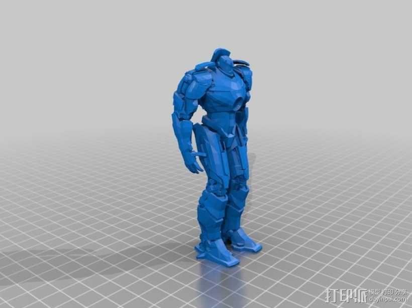 电影《环太平洋》机甲 3D模型  图3