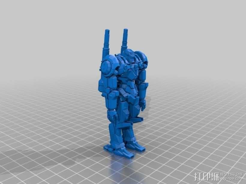 电影《环太平洋》机甲 3D模型  图4