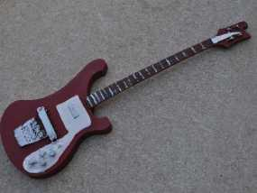 Rickenbacker 4001 贝斯吉他 3D模型