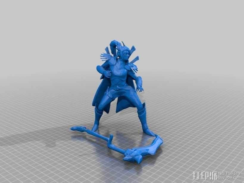 Dota 2 幻影刺客 3D模型  图3