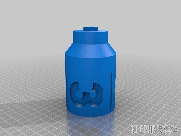 """""""雷鸟3""""飞行器 3D模型  图4"""