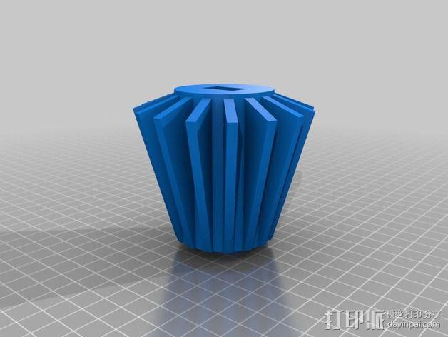 """""""雷鸟3""""飞行器 3D模型  图5"""