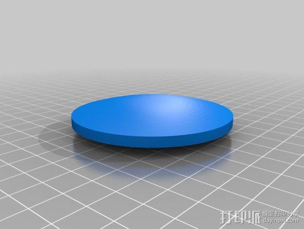 """""""雷鸟3""""飞行器 3D模型  图8"""
