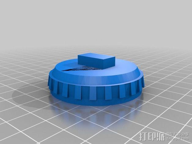 """""""雷鸟3""""飞行器 3D模型  图7"""