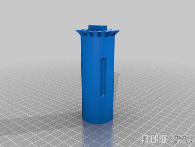 """""""雷鸟3""""飞行器 3D模型  图10"""