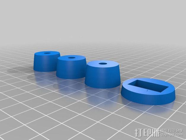 """""""雷鸟3""""飞行器 3D模型  图9"""