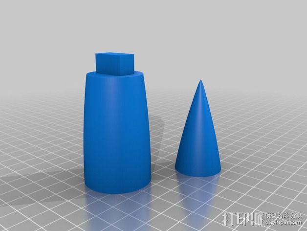 """""""雷鸟3""""飞行器 3D模型  图11"""