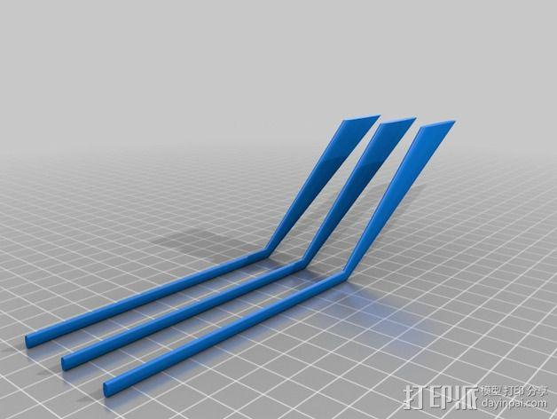 """""""雷鸟3""""飞行器 3D模型  图13"""