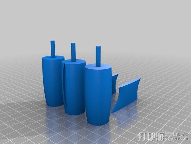 """""""雷鸟3""""飞行器 3D模型  图14"""
