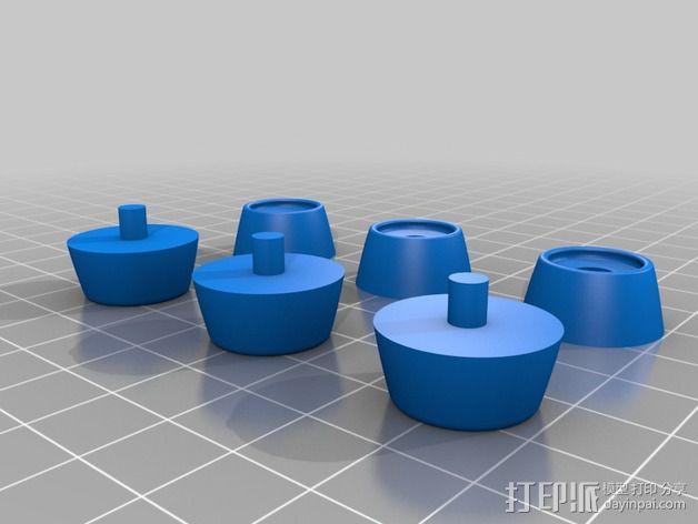 """""""雷鸟3""""飞行器 3D模型  图16"""