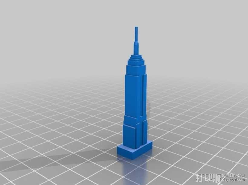 帝国大厦 3D模型  图2