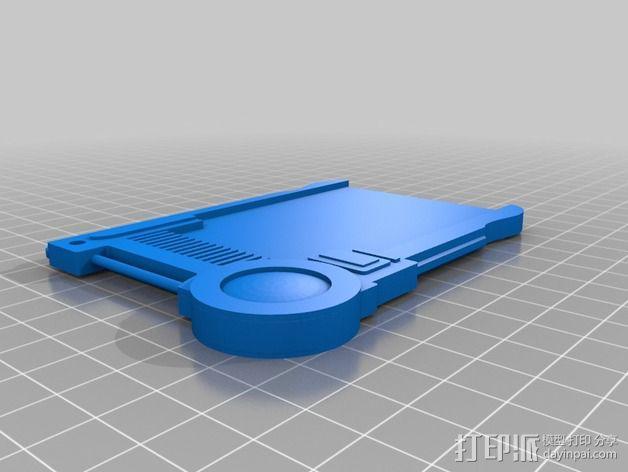 护照 第五元素 3D模型  图4