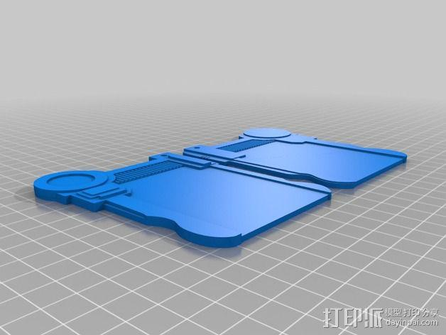 护照 第五元素 3D模型  图7