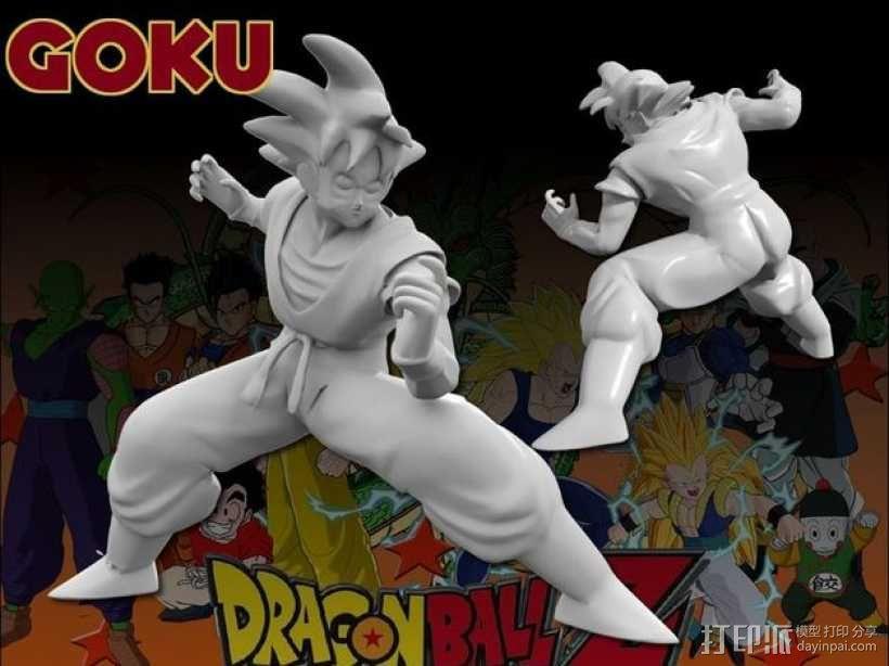 Goku 悟空 3D模型  图1