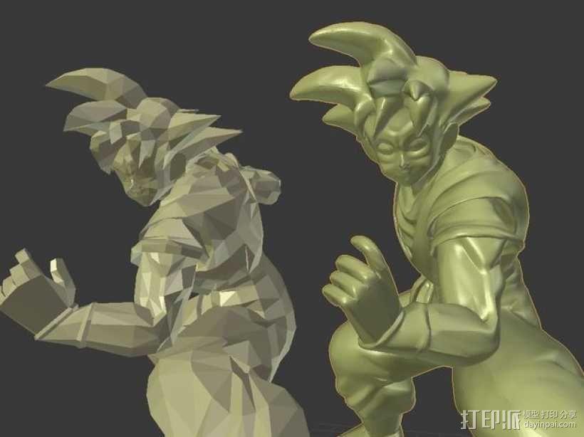 Goku 悟空 3D模型  图3