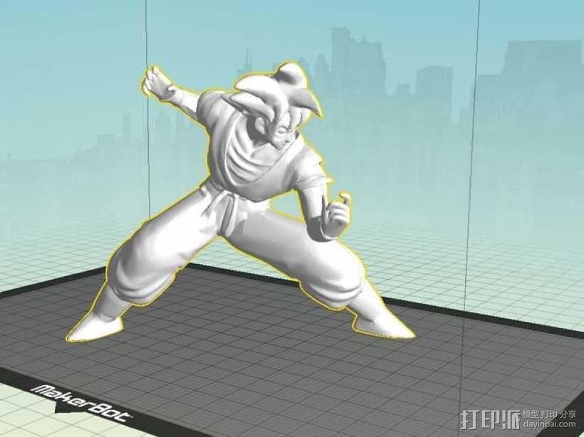 Goku 悟空 3D模型  图4