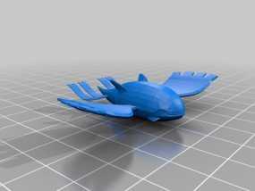 口袋妖怪 盖欧卡 3D模型