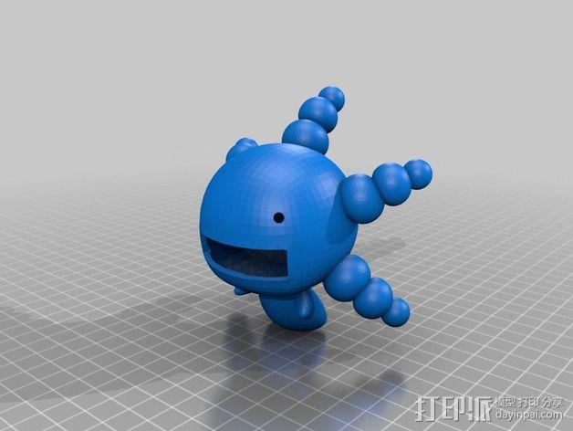 豆芽小文 3D模型  图2