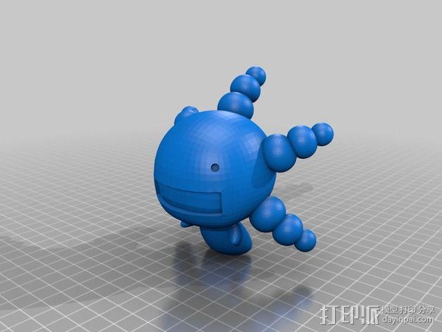 豆芽小文 3D模型  图3